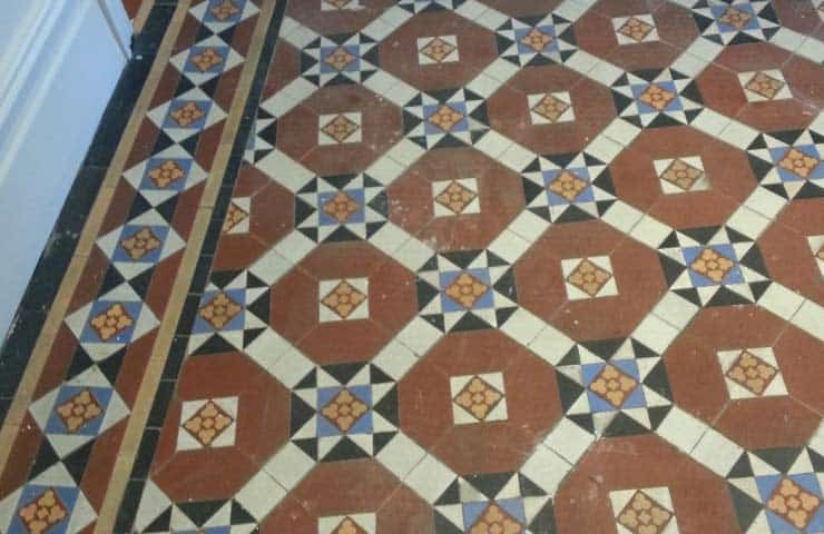 Restoring A Tiled Floor The Period House Guru