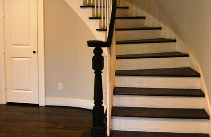 Restoring an old staircase