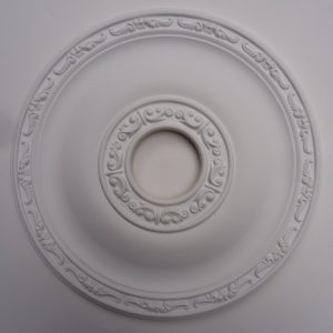 Resin ceiling rose